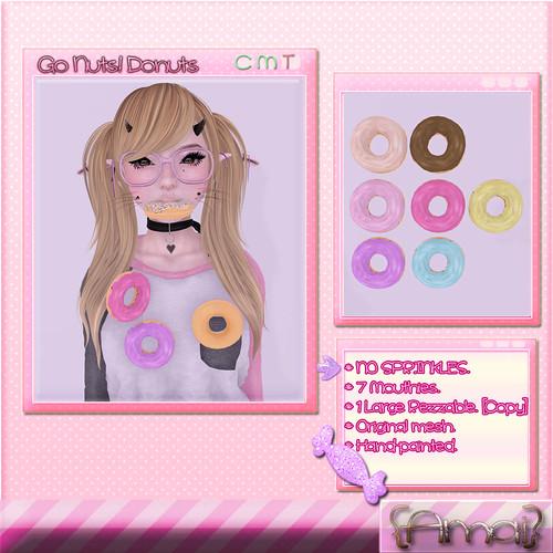 {Amai} Go Nuts! Donuts. [No Sprinkles]