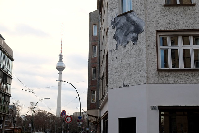 streetart | jr - wrinkles of the city | berlin