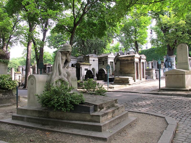 Cementerio  Montmatre 1825 Paris Francia