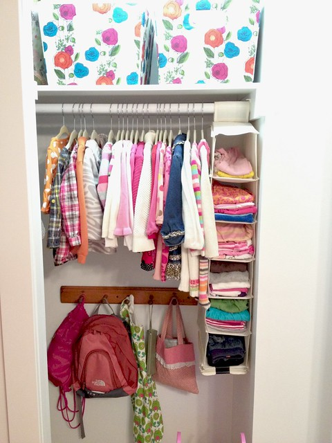 ... Closet Along With Several T Shirts, Long Sleeve Shirts, Undershirts,  Etc. In The Hanging Shoe Caddy (which Is One Of My Favorite Kids Clothes  Organizing ...