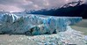 The majestic Perito Moreno glacier in the afternoon