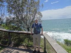 Me at Coolum Beach Wilkinson Park Area