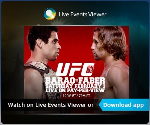 PRO Live Event UFC