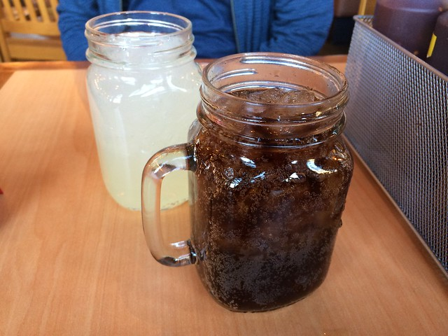 Lemonade and Diet Coke - Roadside BBQ