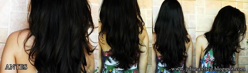juliana leite cabelos ressecados queda castanho longos enrolados blog hidratação pantene ampola creme 3 minutos intenso brilho máscara condicionador como tratar cloro piscina