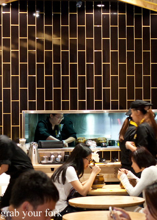 Kitchen window at Two Sticks Yunnan China, Sydney