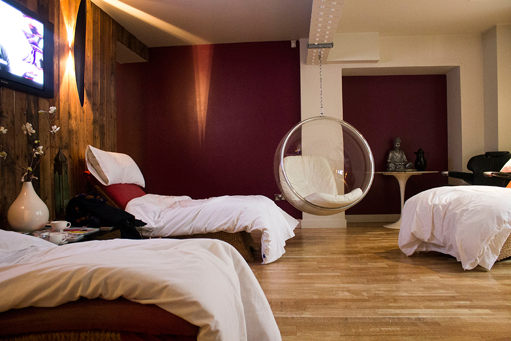 Scotsman Hotel Spa Relaxation Room