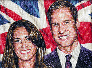 The Duke and Duchess of Cambridge, Prince William and Catherine Middleton, by Malcolm West, 2011