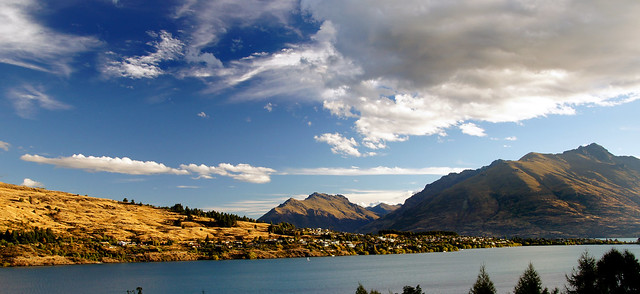 Evening. Frankton Arm Queenstown.NZ