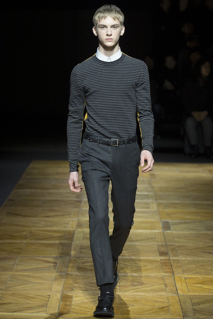 FW14 Paris Dior Homme037_Dominik Sadoch(VOGUE)