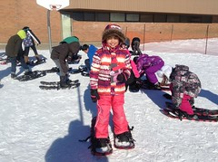 Melody Snowshoeing (submitted by Grade 4/5 Mary Hanley) by melodyaroundtheworld