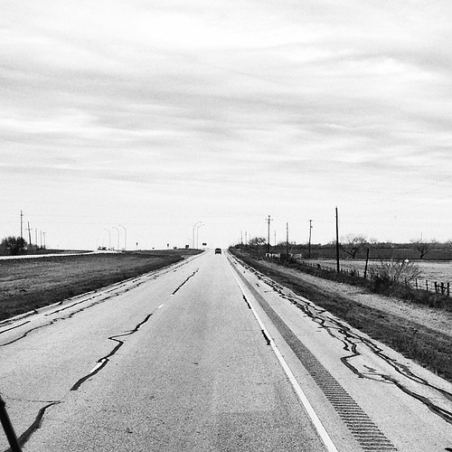 The road between the Rio Grande Valley and San Antonio. A whole lot of nuttin'.