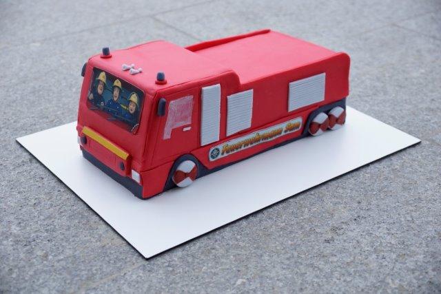 Feuerwehrmann Sam Torte Zum 4 Geburtstag Von Alex Gab Es Flickr