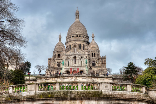 The Sacre Coeur, Paris