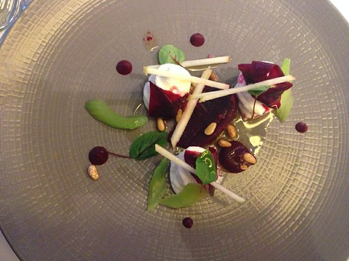 Goats Cheese and Beetroot