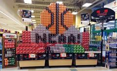 Coca Cola NCAA Cases Display Final Four Coca Cola Zero Coke Zero