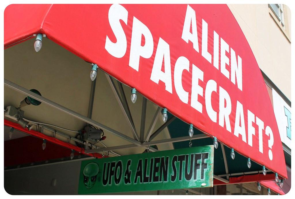 roswell new mexico ufo & alien stuff