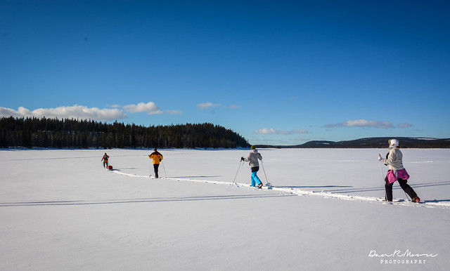 An Arctic Adventure in Swedish Lapland - Cross Country Skiing in Swedish Lapland
