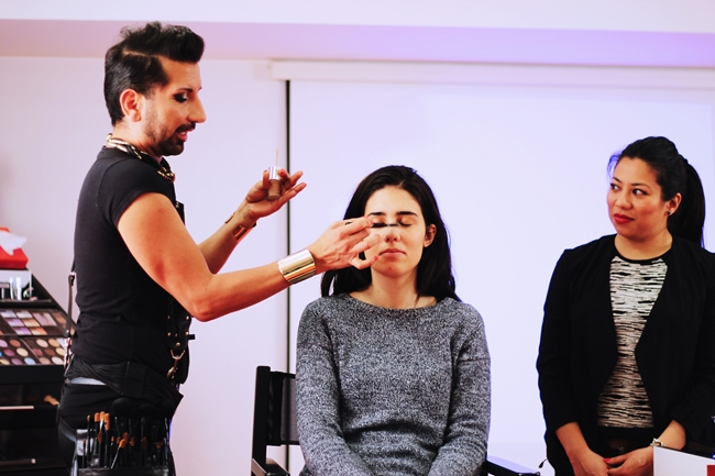 Event Workshop Make Up Factory with Diego Schober