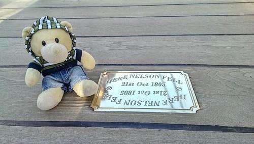Where Nelson fell