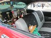 Car show trophies won by 1957 Chevy Bel Air