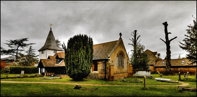 St Andrews Church Greenstead-juxta Ongar, Essex. from Flickr via Wylio