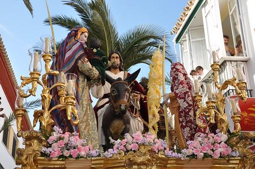 AionSur 13833225053_4ee51522c1_d Jesús entró en Jerusalen en una espléndida tarde de Domingo de Ramos Cultura Semana Santa