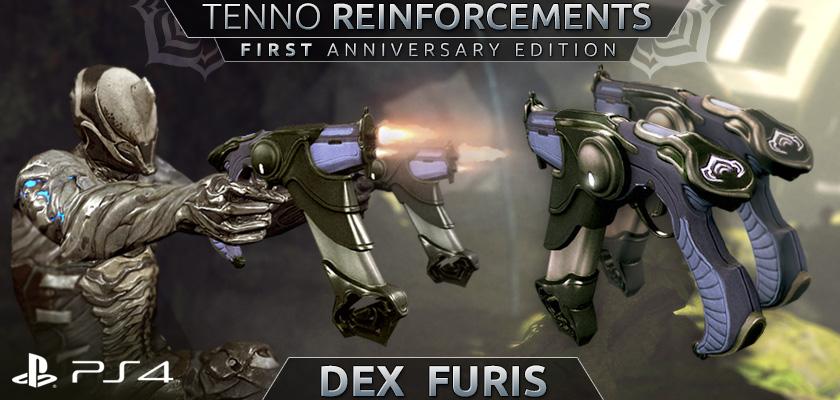 Warframe on PS4: Dex Furis