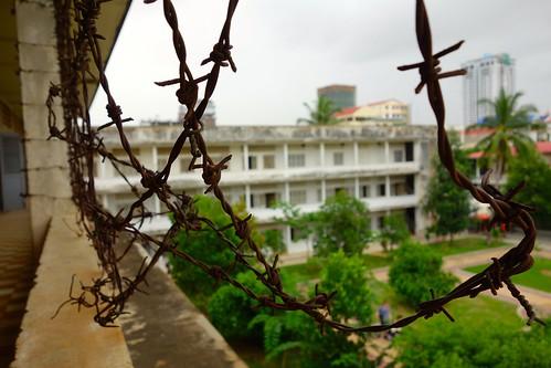 Impressive Tuol Sleng prison in Cambodia