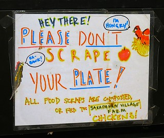 DON'T SCRAPE YOUR PLATE!