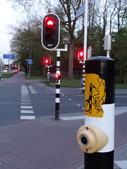 自転車用信号機ボタン