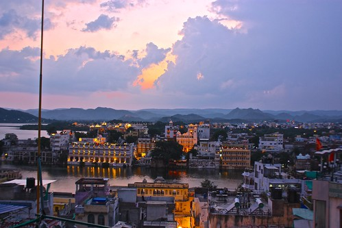 Udaipur post sunset