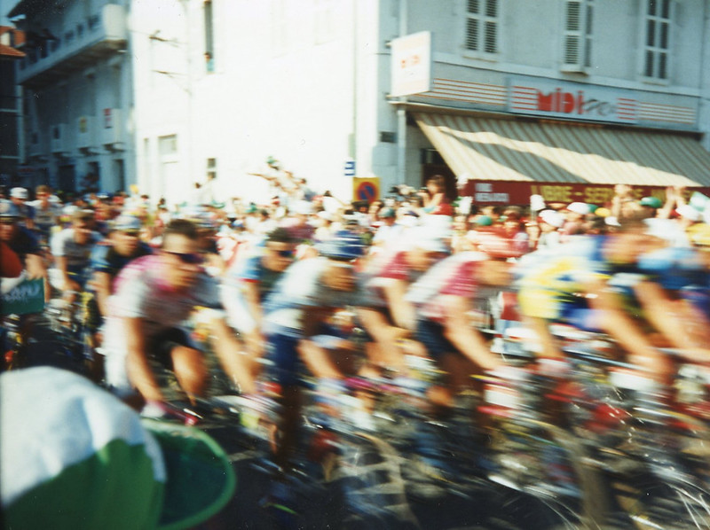 Blur of Riders - Tour de France 1995 - 02