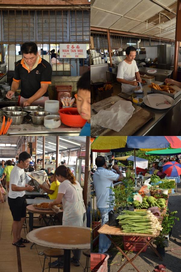Pokok Assam Market Hawkers