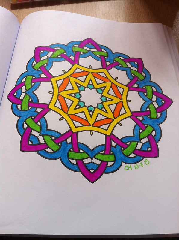 Meditation Colouring Book 6
