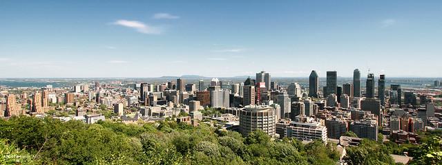 Montréal Cityscape (Québec, Canada)