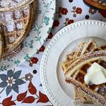 Vanilla Gingerbread Waffles