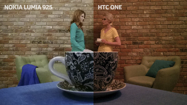 Nokia Lumia 925 vs HTC One