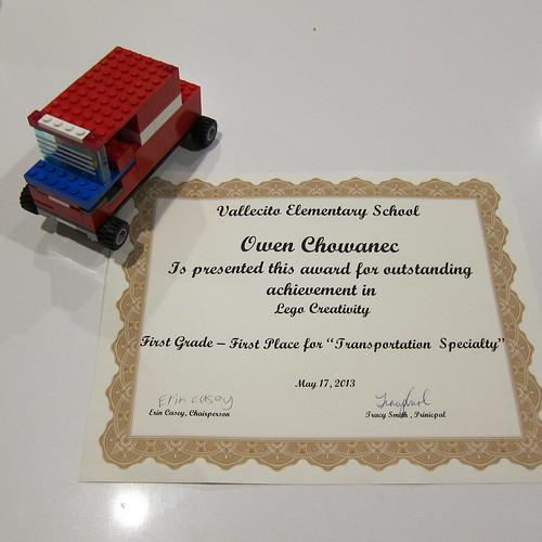 owen's lego jeep