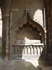 Tomb in the ruined Cathedral