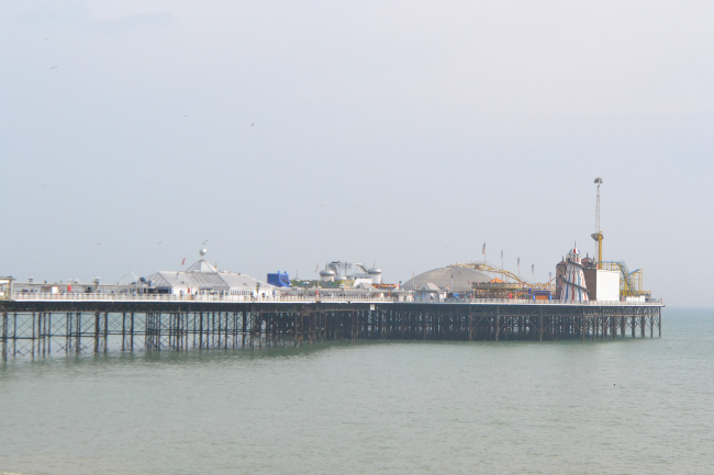 Daisybutter - UK Style and Fashion Blog: brighton blogger meet, uk city break, brighton pier