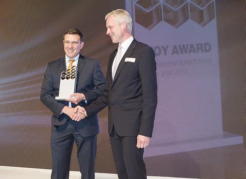 Flottenmanagement-System von Crown erhält IFOY Award 2013