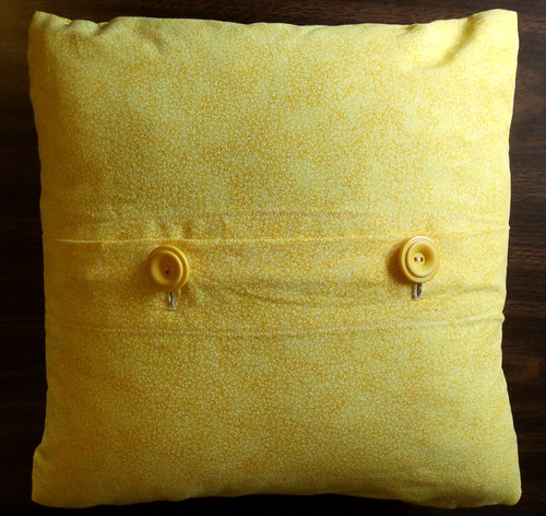 Calavera pillow - back