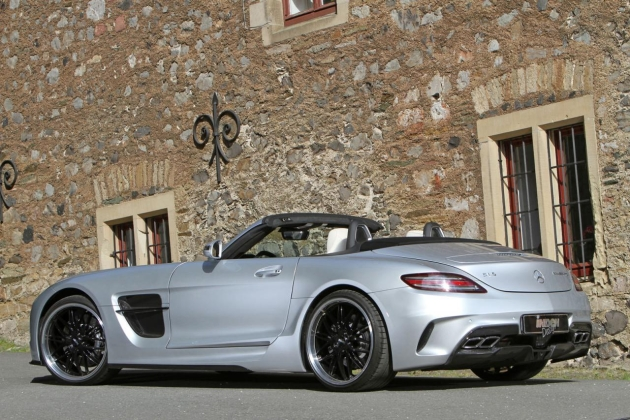 Mercedes SLS AMG Borrasca Roaster by INDEN Design