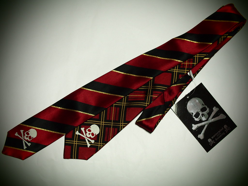 mastermind JAPAN | Regimental Striped Tie