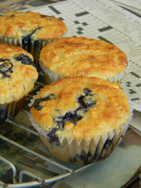 Berry Breakfast Power Muffins
