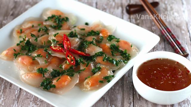 Bánh bột lọc - Vietnamese tapioca dumplings