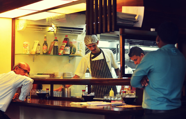 [081] - @AoiMumbai Chef & Serving