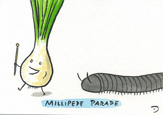 Millipede Parade