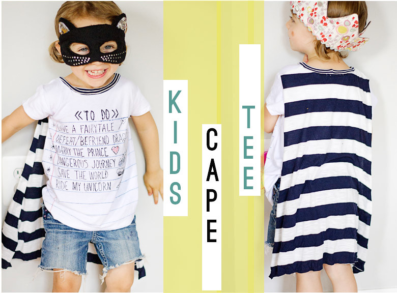 KCW cape tee